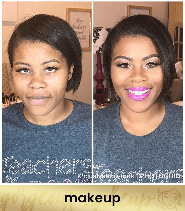 X'clusive Looks Microblading Before and After